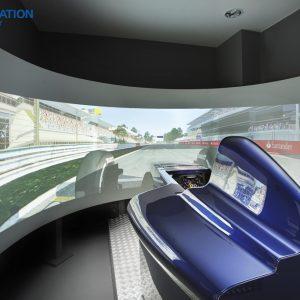 Simulátor F1 pro jednoho