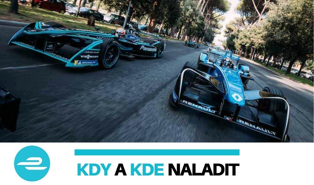 Formule E kdy a kde naladit